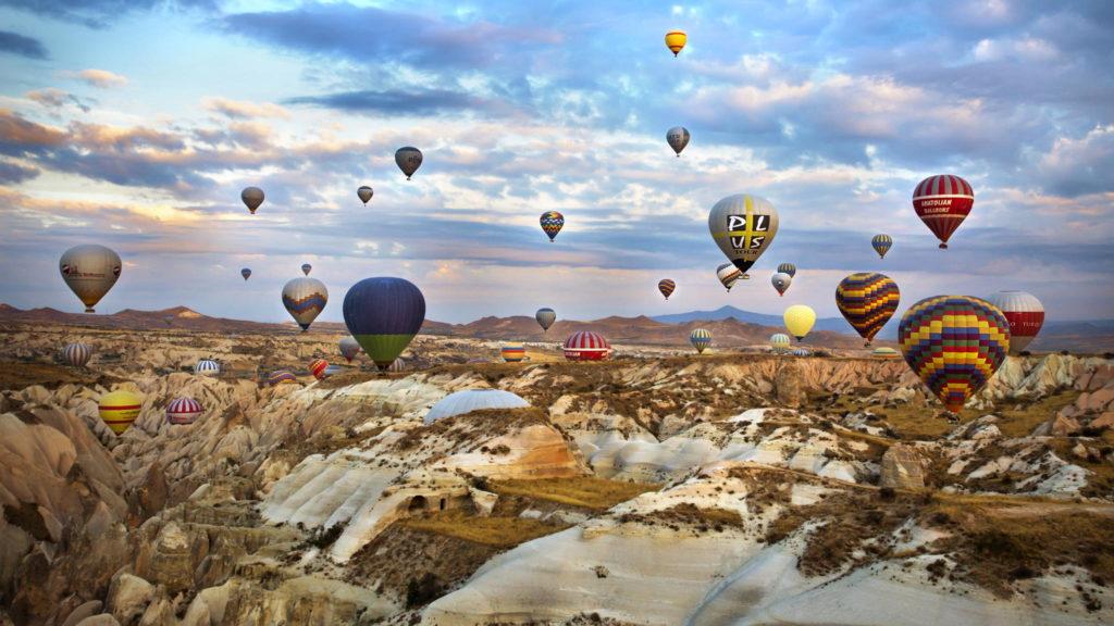 voznja balonima na vruc vazduh kapadokija