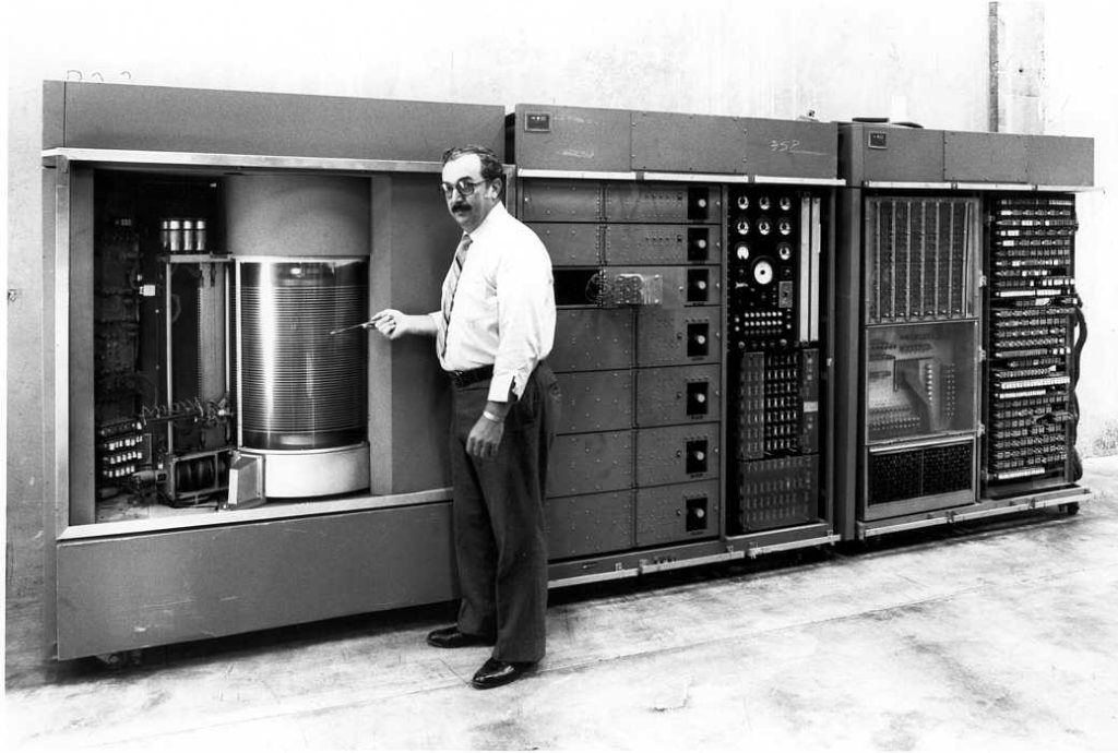 RAMAC Engineering Prototype, IBM San Jose, 1956