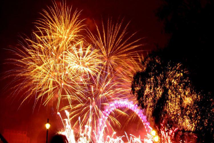 Vatromet za doček Nove godine
