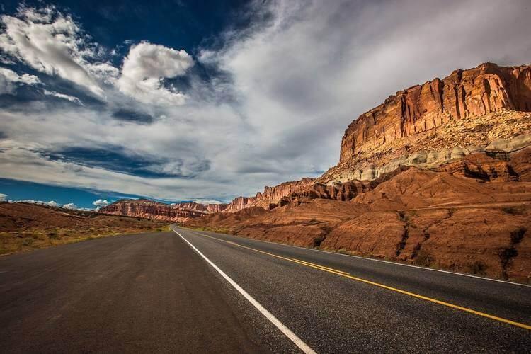 Put pored planine