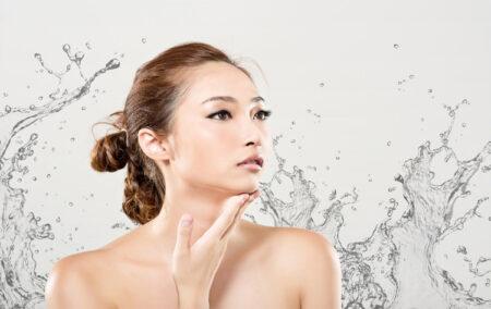 Prikaz negovane žene i korejske kozmetike